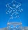 Snow Heart Snowflake Centerpiece