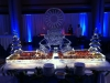Christmas Theme Raw Bar with Logo