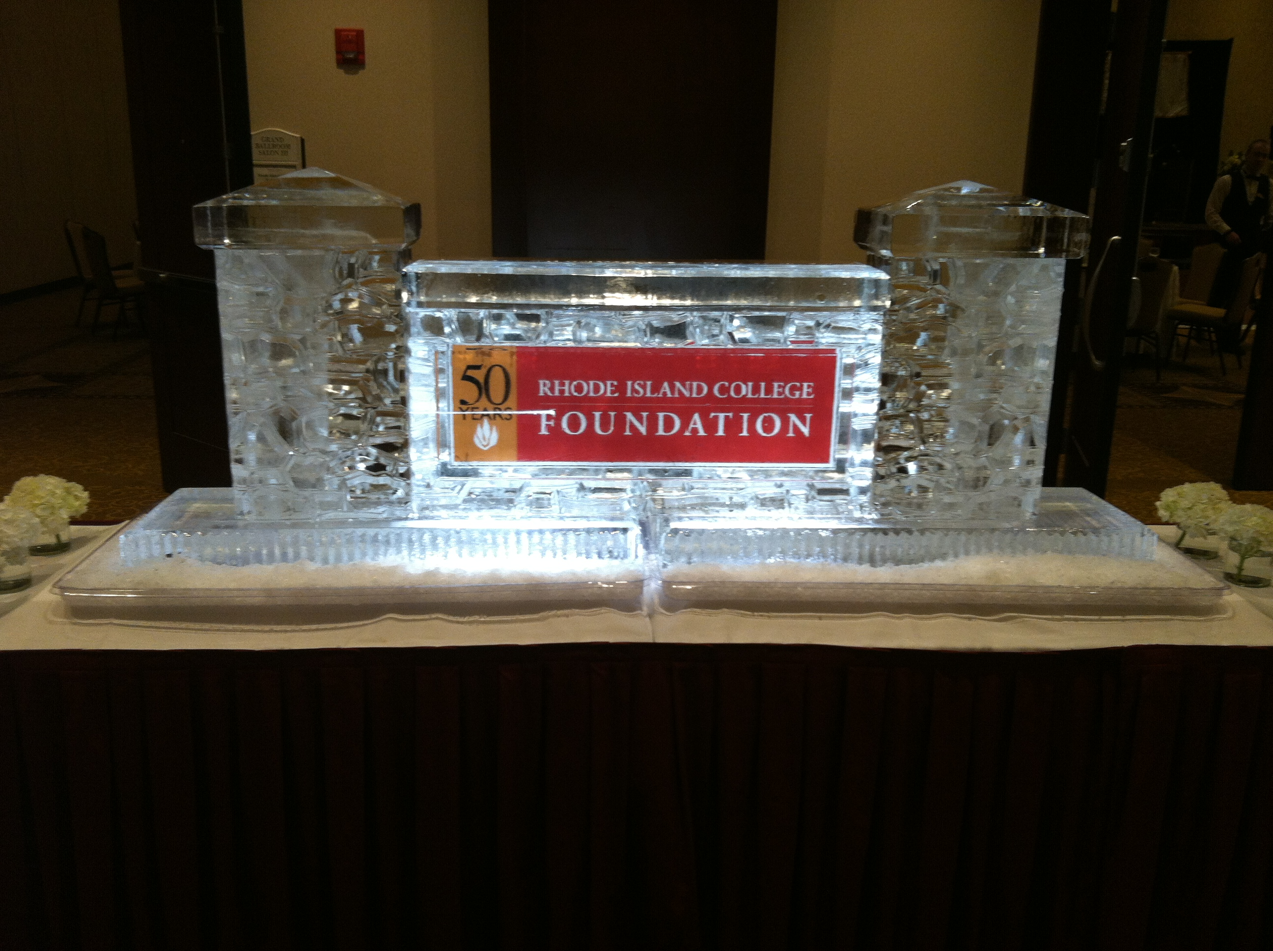 RIC Foundation Logo in Stone Wall
