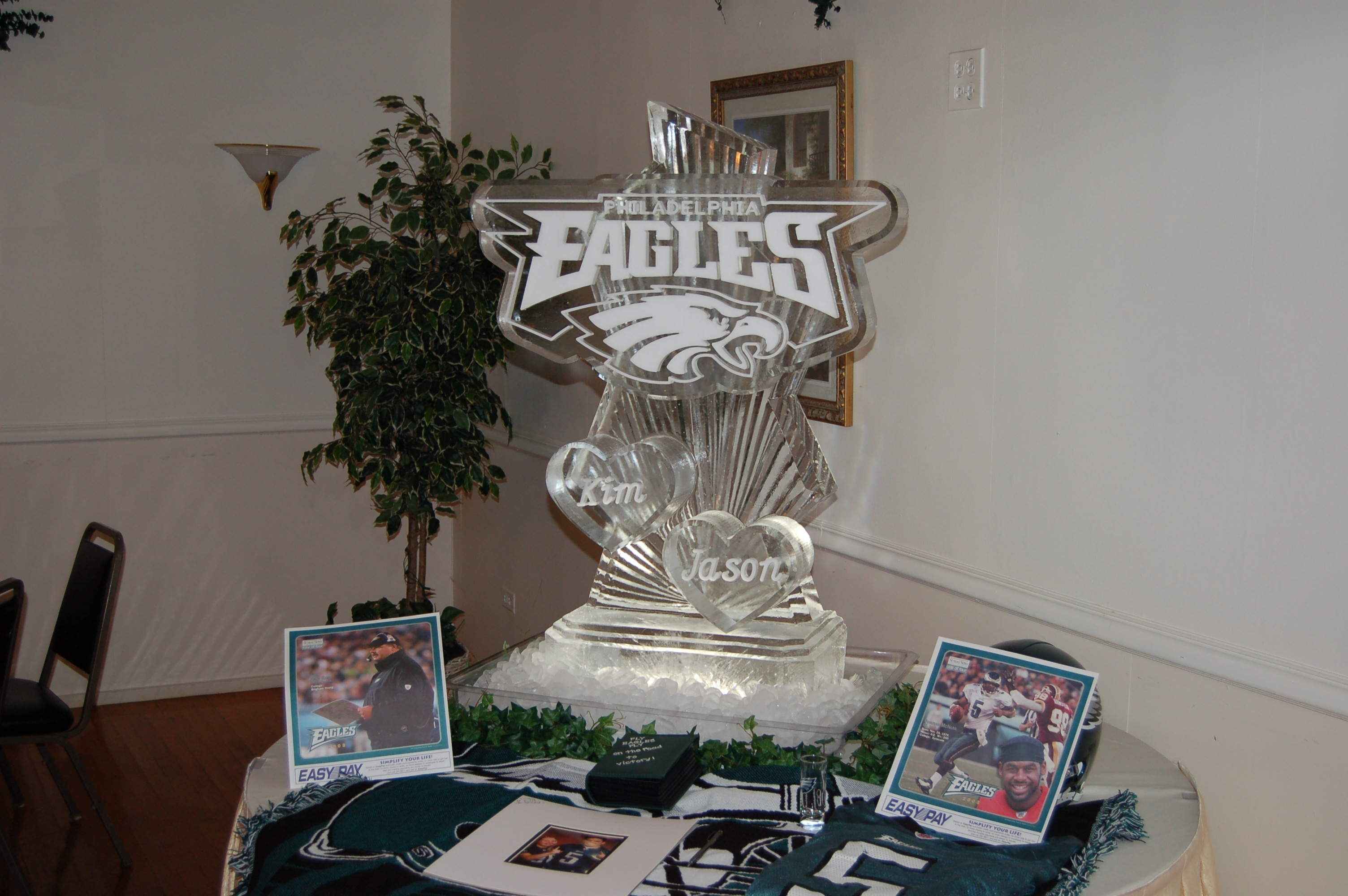 Philadelphia Eagles Wedding Logo
