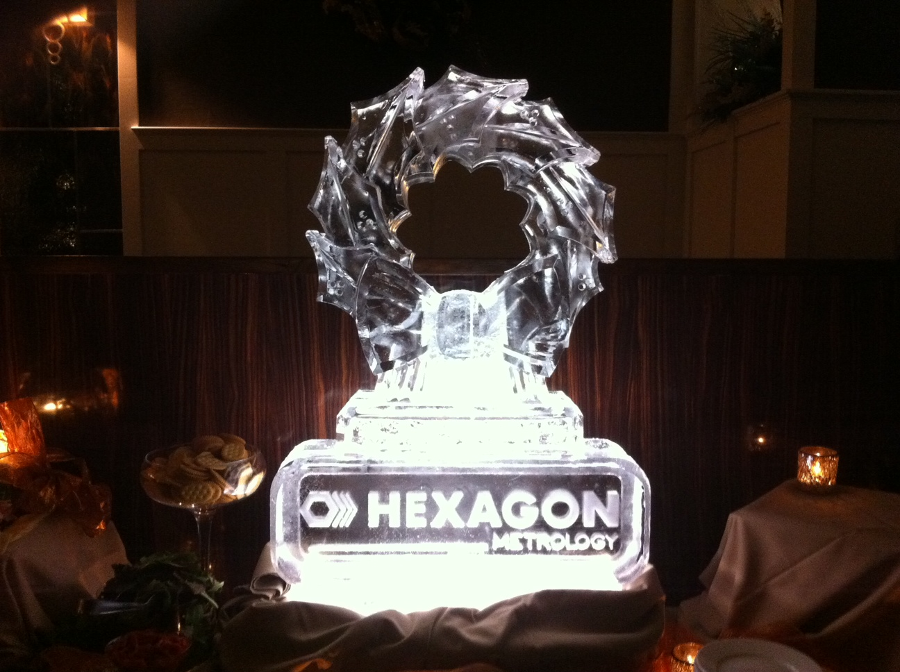 Hexagon Christmas Logo