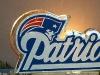 Patriot's Logo In Ice