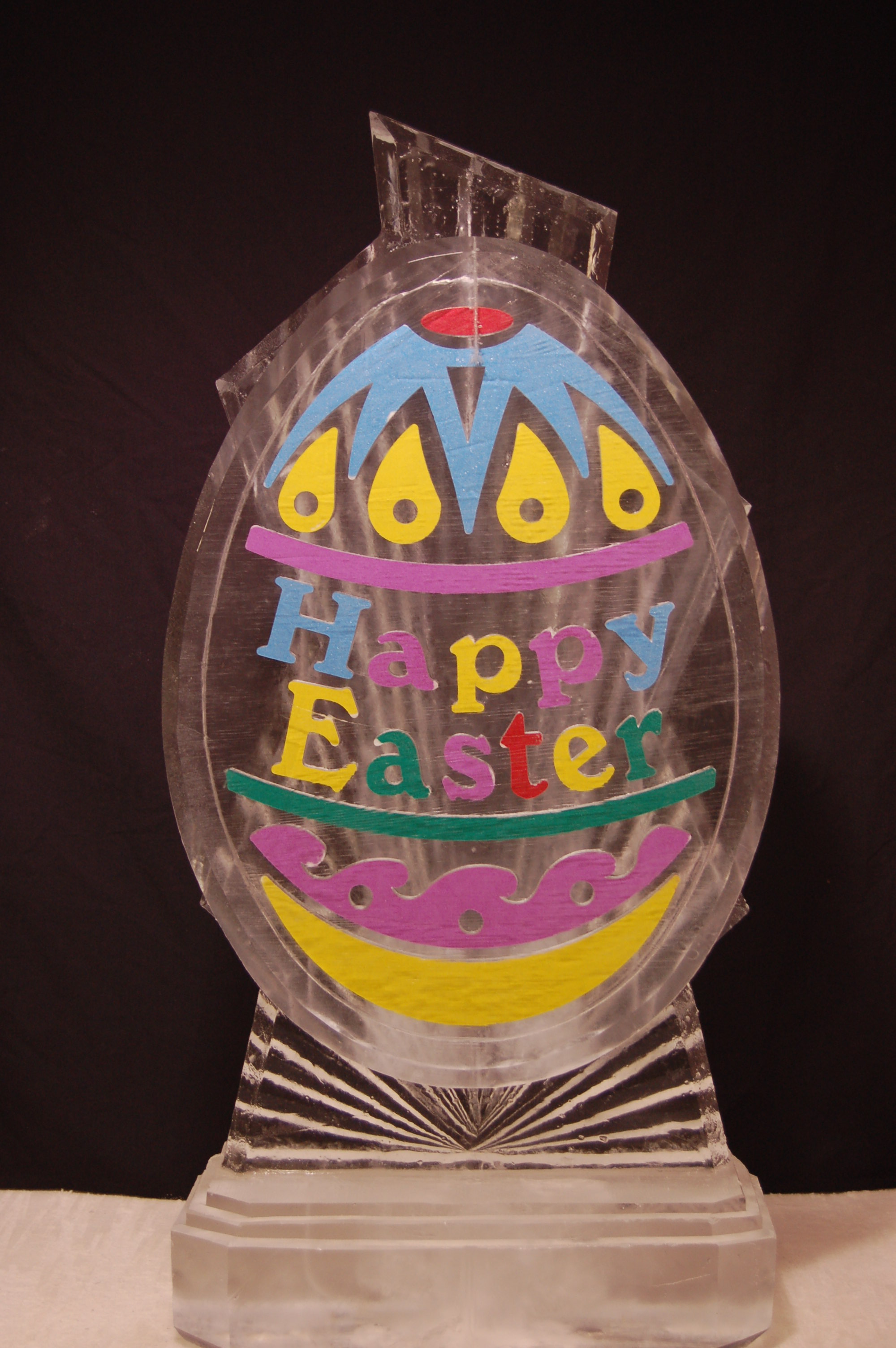 Happy Easter Egg (Colored Sand)
