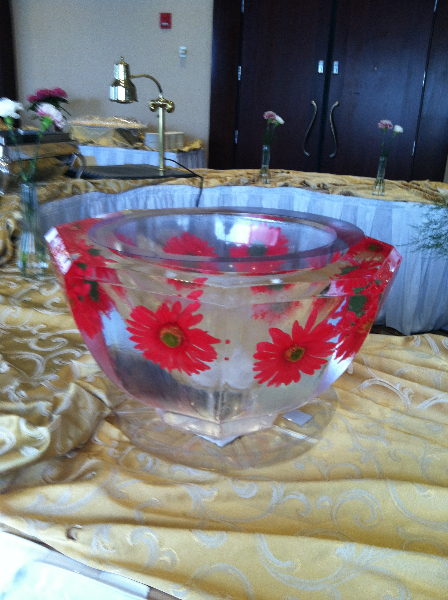 Flower Punch Bowl