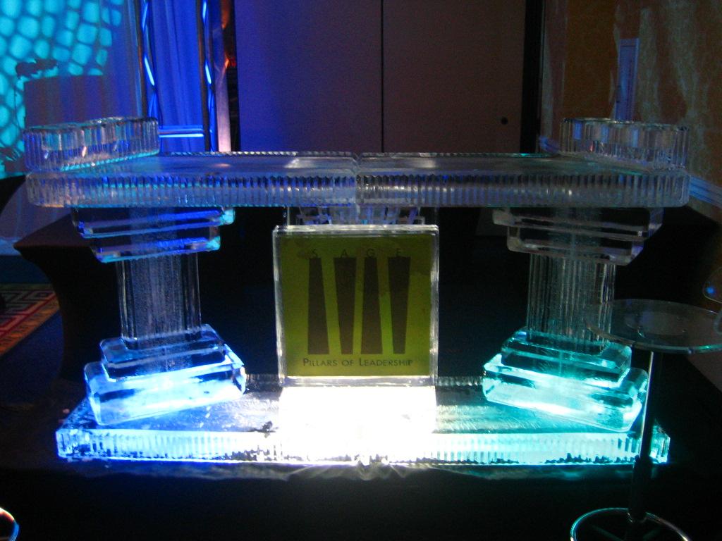 SAGE Awards Full Ice Bar