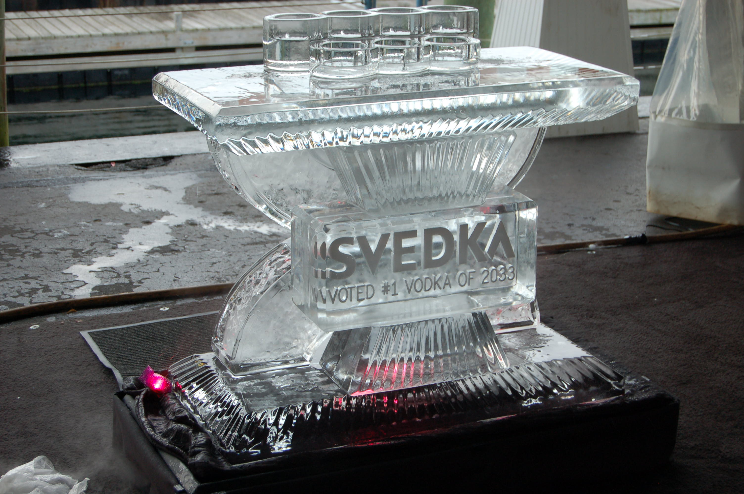 Svedka Mini Ice Bar