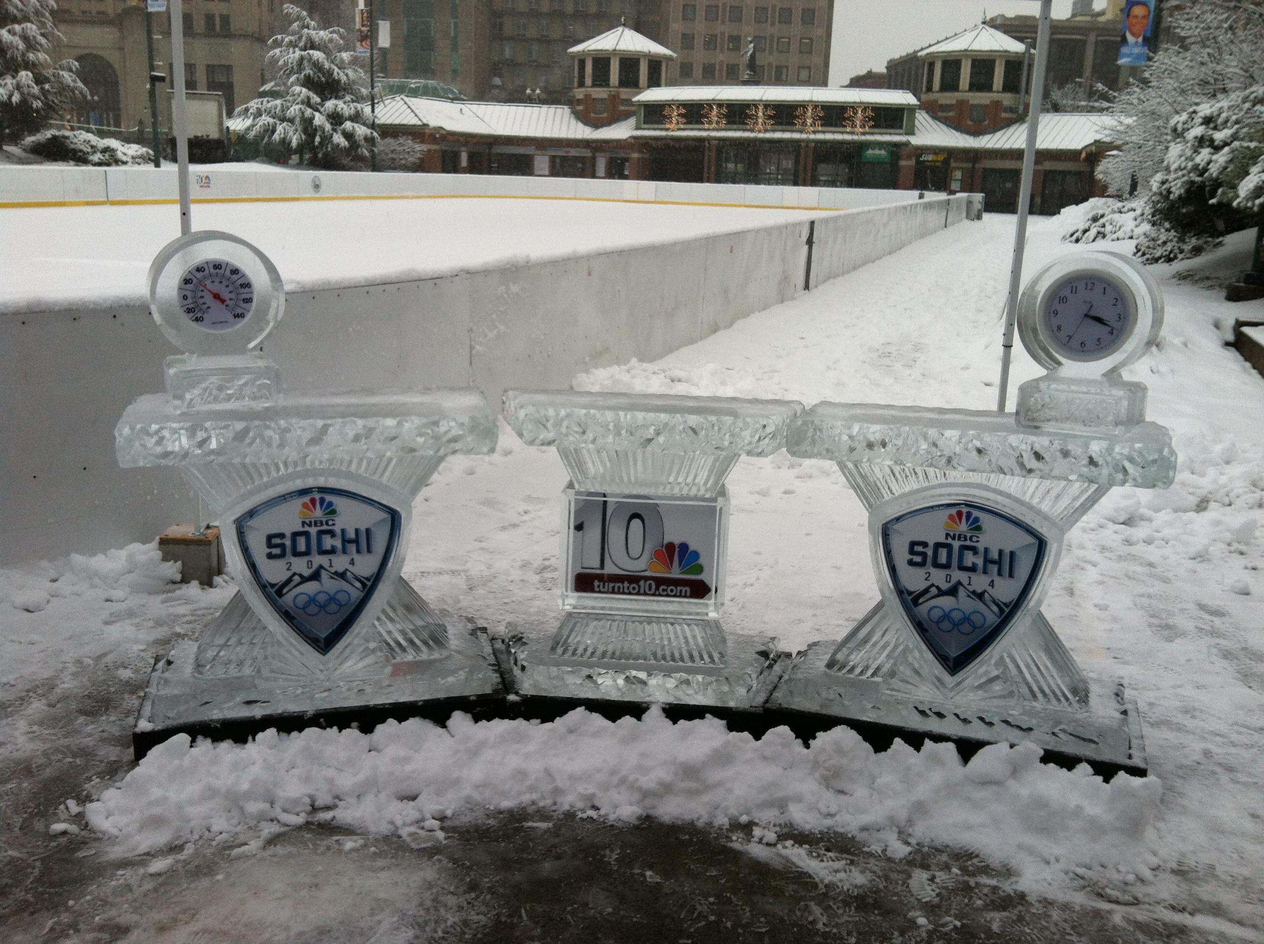 NBC Sochi 2014 Winter Olympics Ice Desk