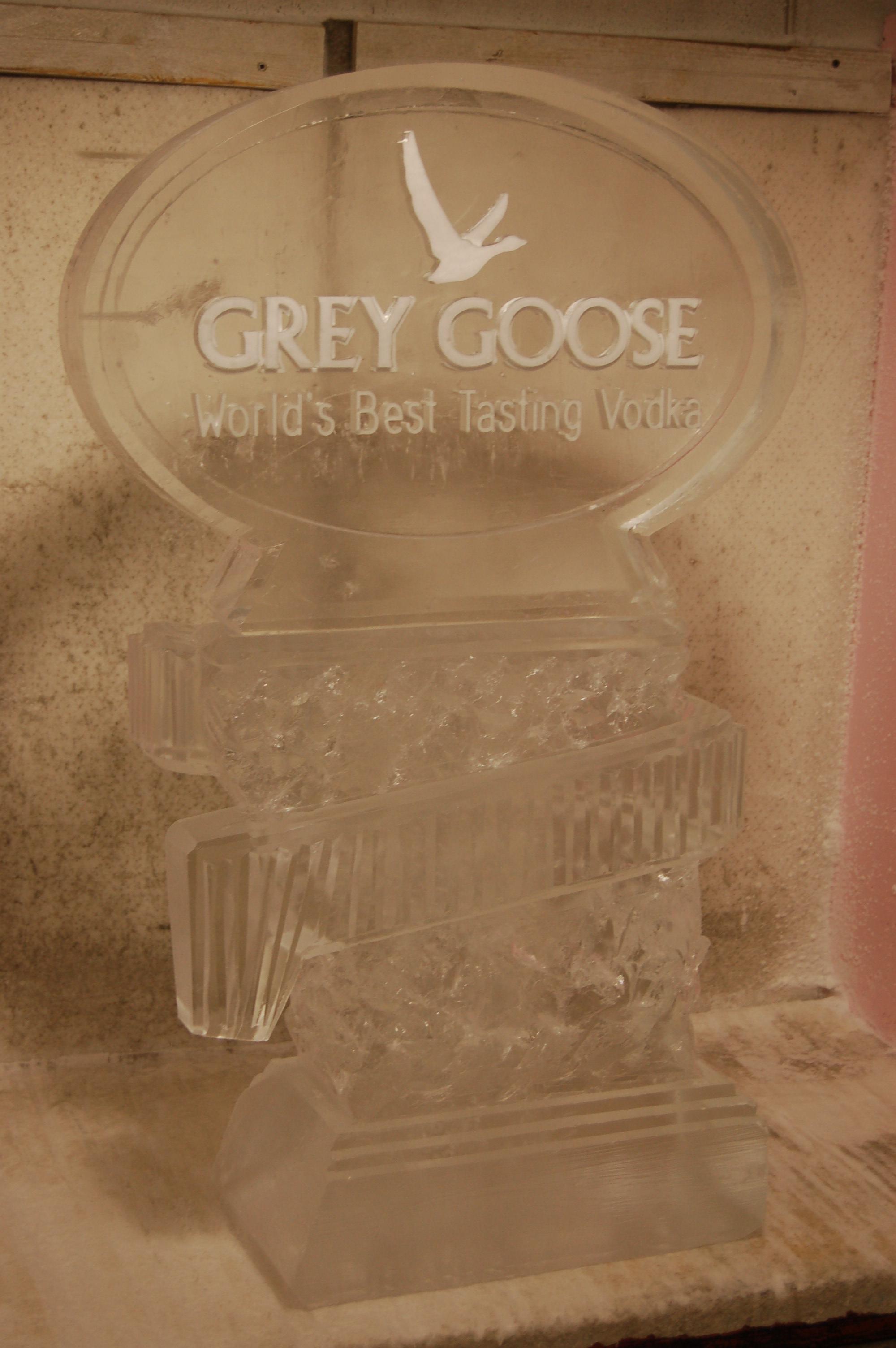 Grey Goose Wrap Luge