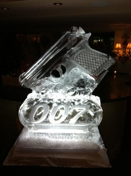 James Bond Gun Tube Luge