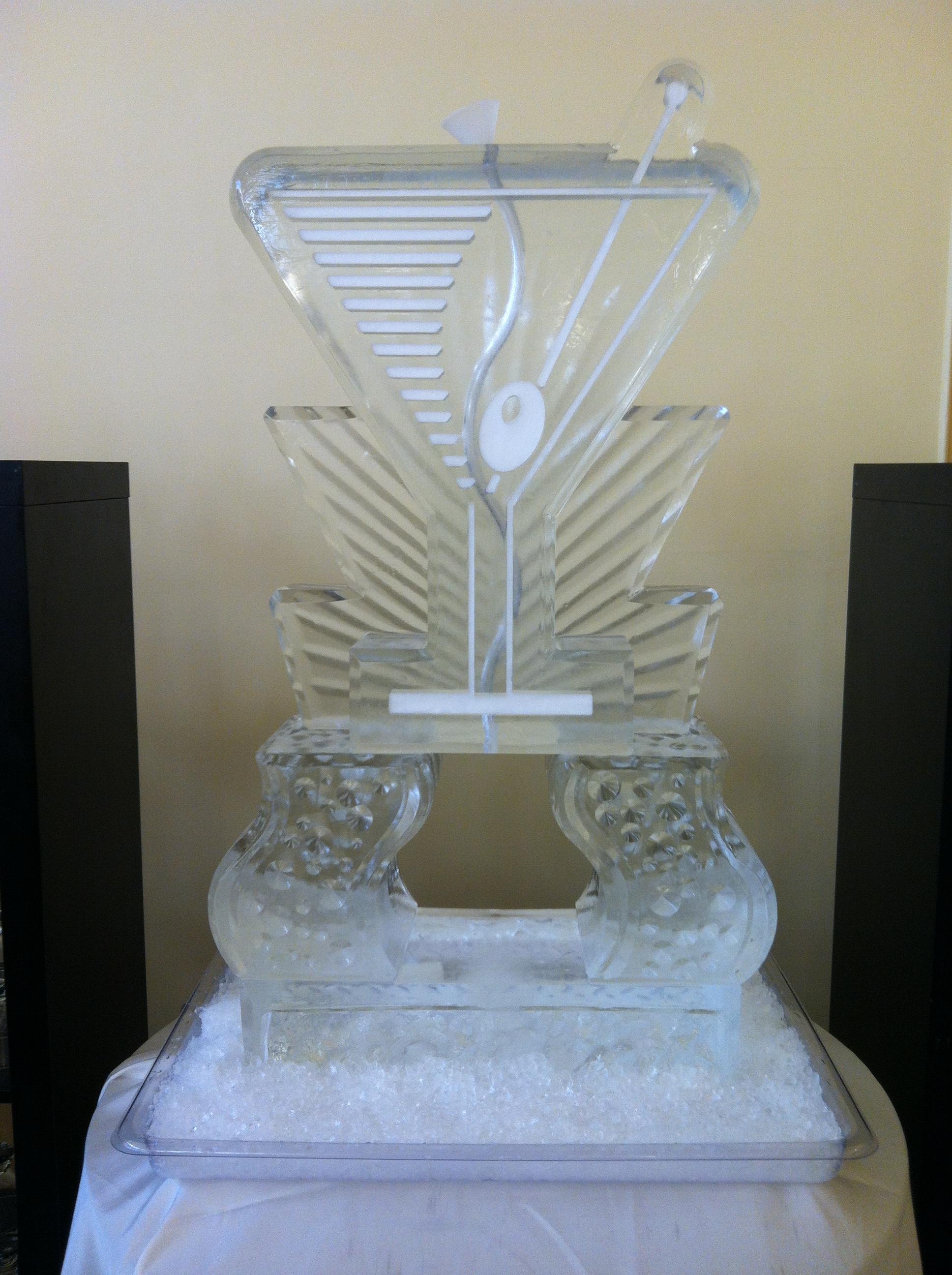 Martini Glass Tube Luge