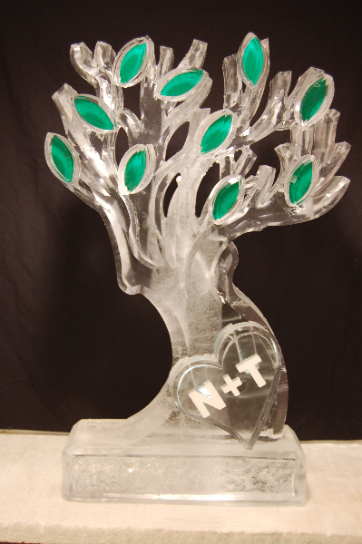 Growing Tree with Engraved Names