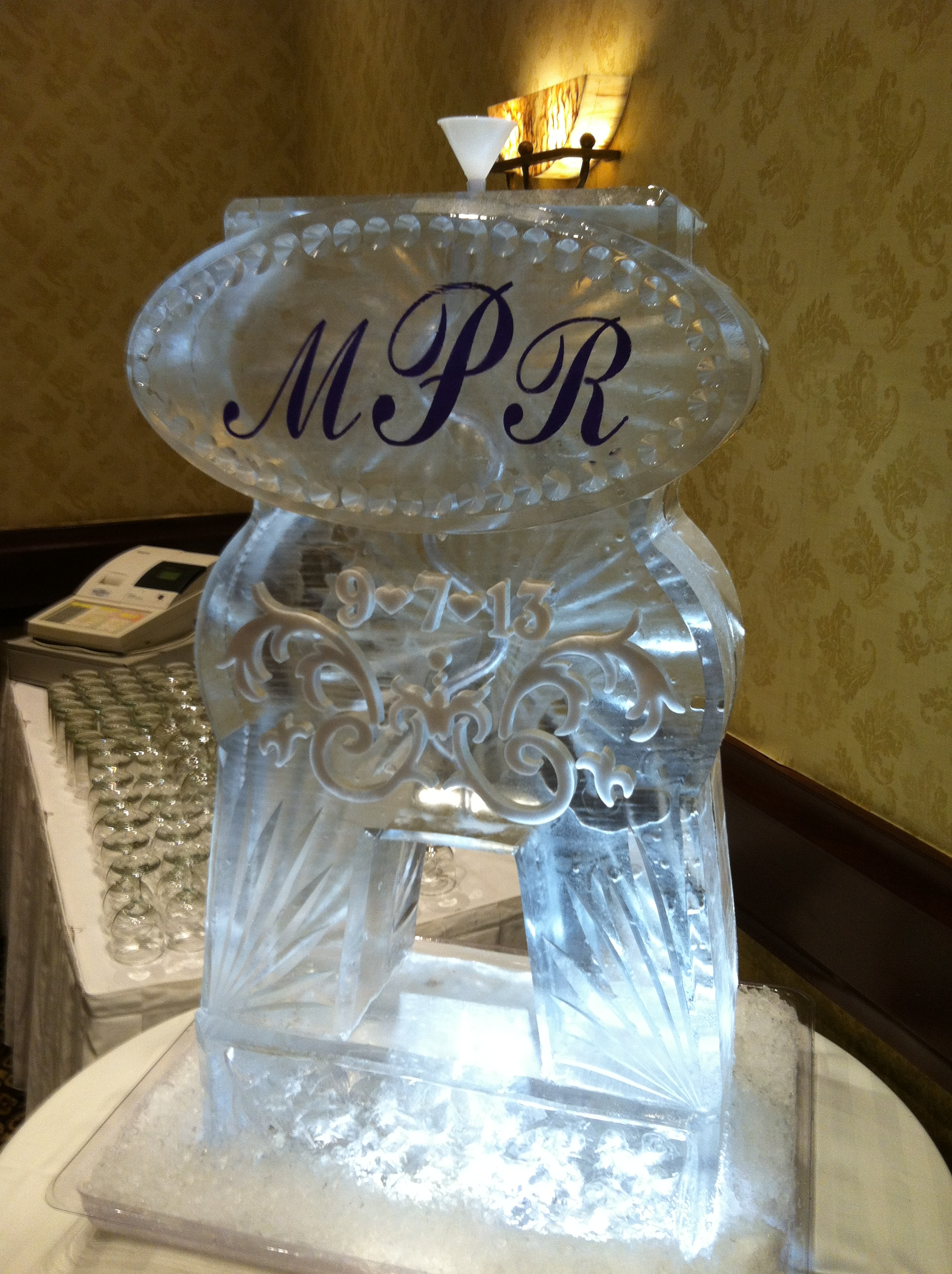 Monogram in Color Tube Luge