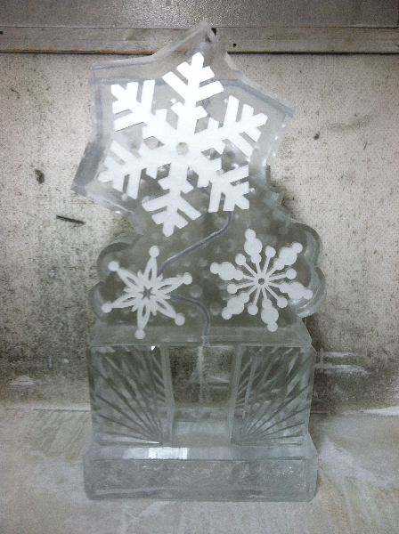 Snowflakes Tube Luge