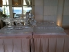 Custom Raw Bar with Bottle Holders