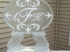 Custom Monogram Snowfill Tube Luge