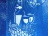 Wine Glasses & Grapes W Names